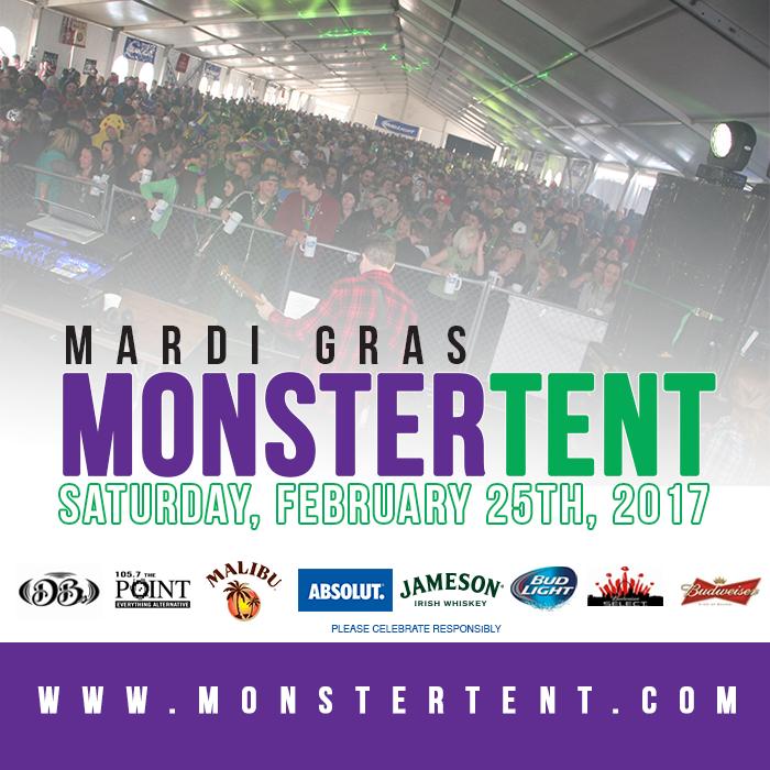 Mardi Gras Monster Tent 2017